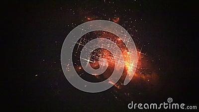 Filtrando sopra Tungurahua video d archivio