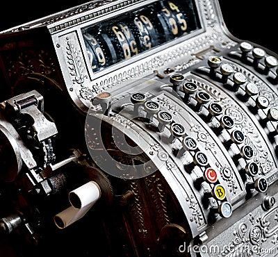 Caixa registadora antiga