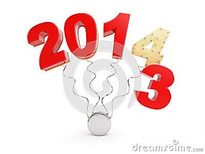 Fim de 2013 anos novos 2014