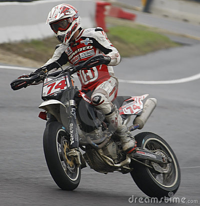 Free FIM Supermoto World Championship In Milan Stock Image - 5806521