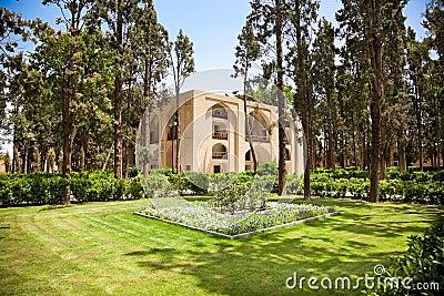 Fin Gardens in Kashan, Iran.