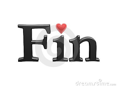 Fin with love heart