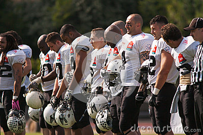 Final EFAF CUP 2013 Editorial Stock Photo