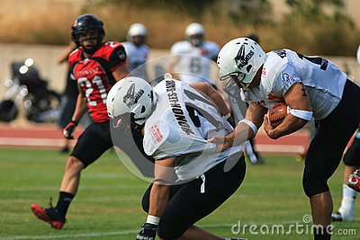 Final EFAF CUP 2013 Editorial Stock Image