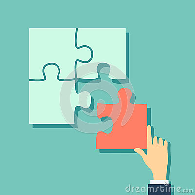 Free Final Piece Of Puzzle Royalty Free Stock Images - 41840659