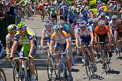 Final race tour downunder 2009 Editorial Photo