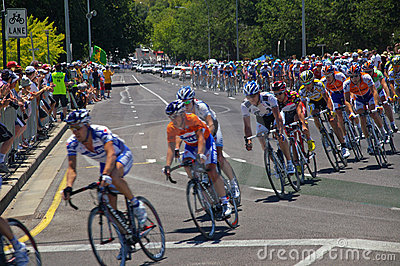Final race tour downunder 2009 Editorial Photography