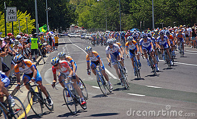 Final race - Tour downunder Editorial Image