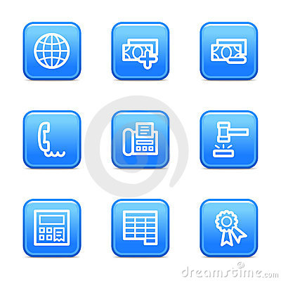 Finance 2 web icons