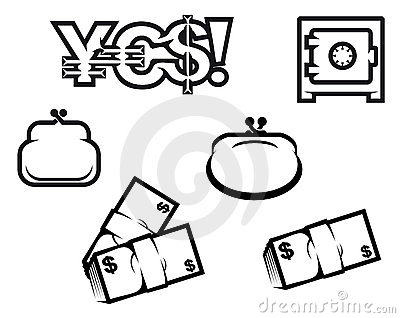 Finance and economics symbols