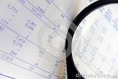 Finance figures, studying