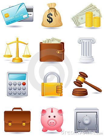 Free Finance Icon Royalty Free Stock Photography - 9291317