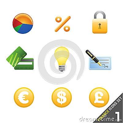 finance icon set 1