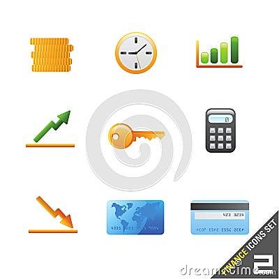 finance icon set 2