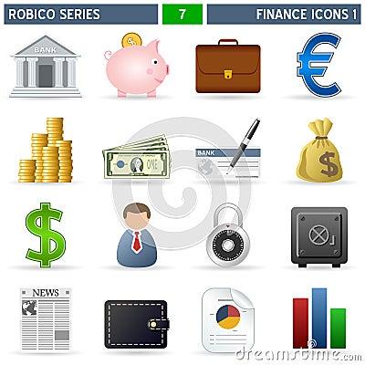 Finance Icons [1] - Robico Series