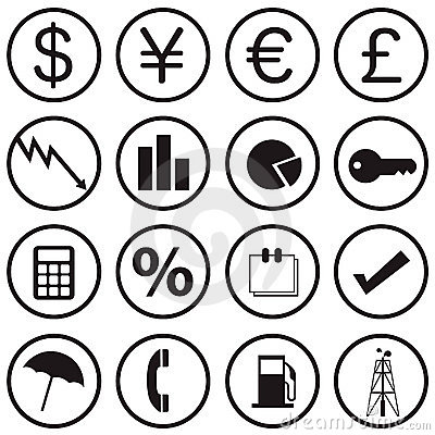 Finance Icons Stock Image - Image: 15103401
