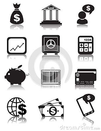 Free Finance Icons Stock Photos - 31547333