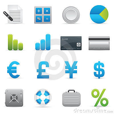 Finance Icons | Indigo Series 01