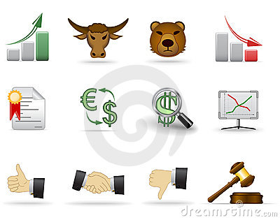 Finance icons. Part 2