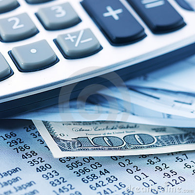 Free Finance, Money & Calculator Stock Photography - 14257352