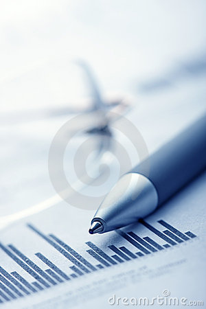 Free Finance Report Royalty Free Stock Photography - 4176067
