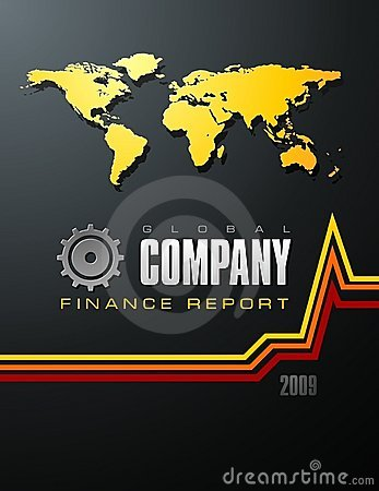 Finance Report Cover