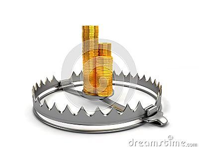 Finance risk concept