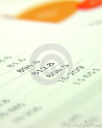 Finances report