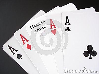 Financial Advice Gamble