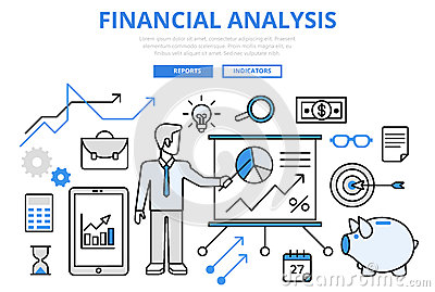 Graphic Of Financial Analysis Illustration Image 43992581 – Financial Analysis