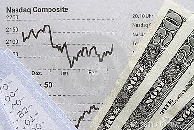 Financial Chart, Account statement and Dollars