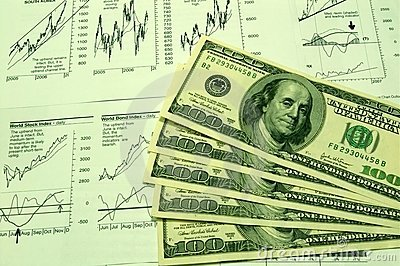 Financial charts and US Dollar #3