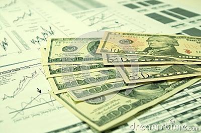 Financial charts and US Dollar #5