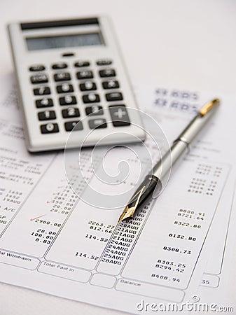Financial checkup.