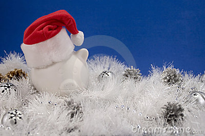 Financial Christmas Background