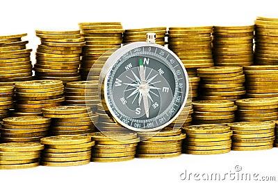 Financial concept - navigating