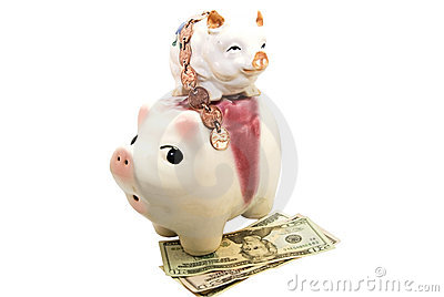 Financial Concept/Piggy Banks