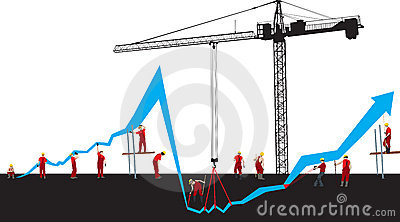 Financial Crisis Graph Royalty Free Stock Photo - Image: 7018245