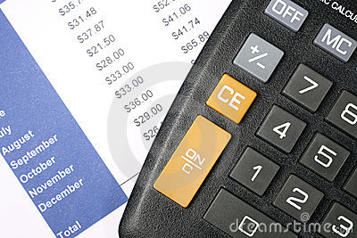 Financial Data and Calculator