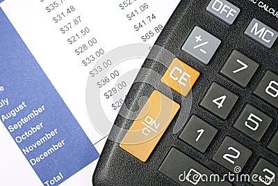 Financial Data and Calculator