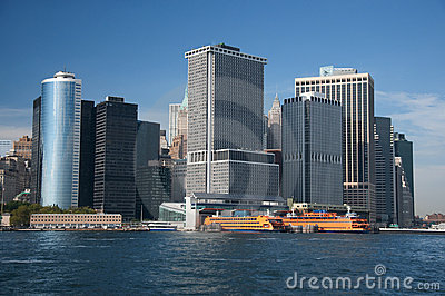 Financial district, new york city