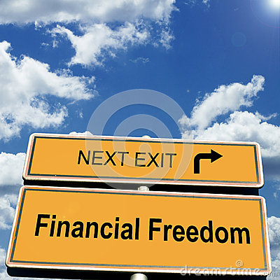 Free Financial Freedom Royalty Free Stock Photography - 43842847