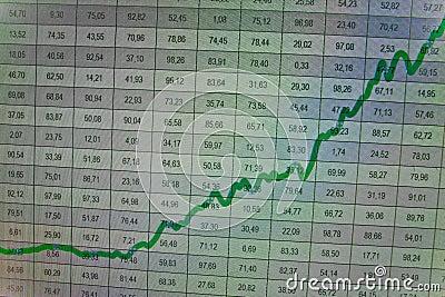 Financial graph- SUCCESS -growth, benefits