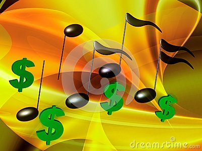 Financial music symphony