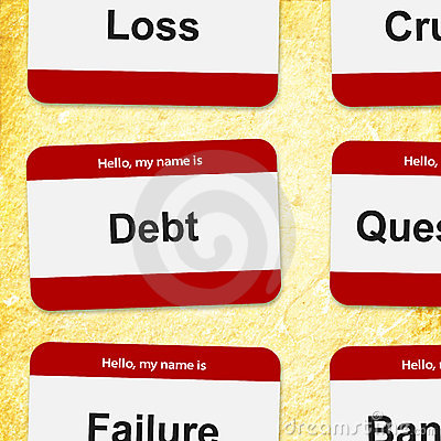Financial name tags