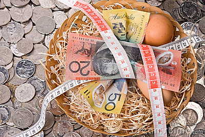 Financial Nest Egg - Tightening The Budget