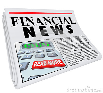 Financial News Finance Reporting Newspaper Advice
