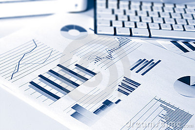 Financial performance graphs