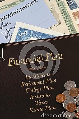 Free Financial Plan Stock Photo - 1560990