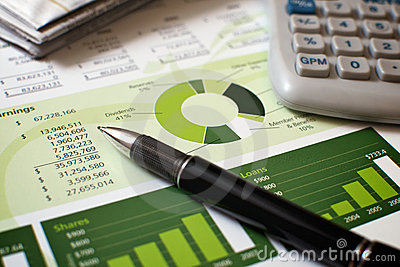 Financial Planning Royalty Free Stock Photo - Image: 10867305